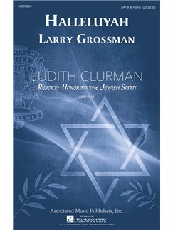 Larry Grossman: Halleluyah (Psalm 150) Books | SATB, Piano Accompaniment