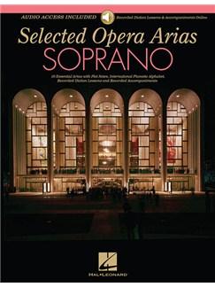 Selected Opera Arias: Soprano Books | Soprano, Piano Accompaniment