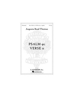 Augusta Read Thomas: Psalm 91: Verse 11 Books | SATB