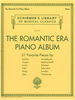 The Romantic Era Piano Album Books | Piano
