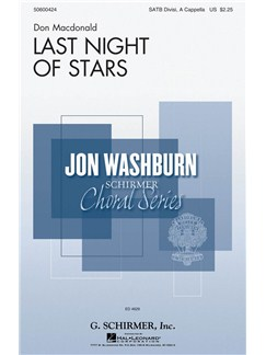 Don MacDonald: Last Night Of Stars Books | SATB