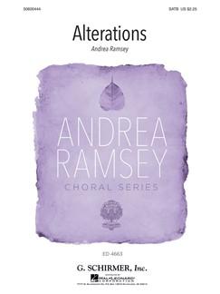 Andrea Ramsey: Alterations Books | SATB, Piano Accompaniment