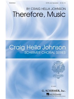 Craig Hella Johnson: Therefore, Music Books | SATB