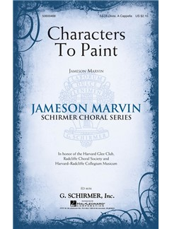 Jameson Marvin: Characters To Paint Books | SATB