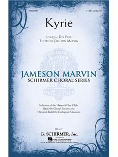 Josquin Des Pres: Kyrie Books   TTBB