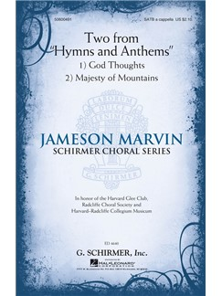 "Jameson Marvin: Two From ""Hymns And Anthems"" Books 