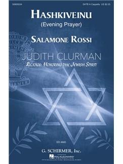 Solomone Rossi: Hashkiveinu (Evening Prayer) Books | SATB