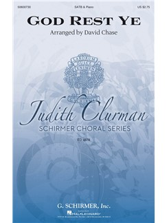 Arr. David Chase: God Rest Ye Books | SATB, Piano Accompaniment