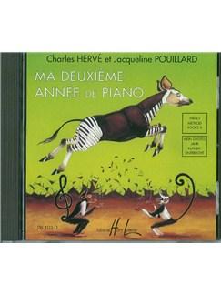 Herve/Pouillard: Mein Zweites Jahr Klavierunterricht (CD) CDs |