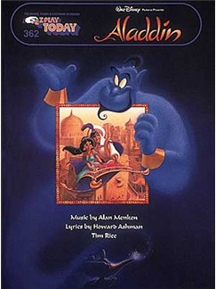 E-Z Play Today 362: Aladdin Books | Melody line & lyrics, with chord symbols