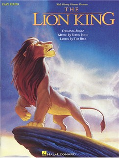 The Lion King: Easy Piano Books | Piano and Voice, with Guitar chord symbols