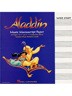 Aladdin Manuscript Paper Books |