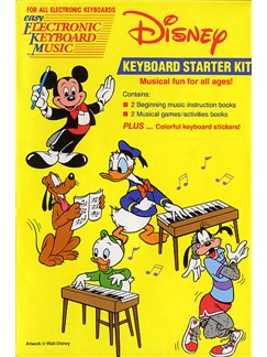 Disney Keyboard Starter Kit Books | Melody line & lyrics, with chord symbols