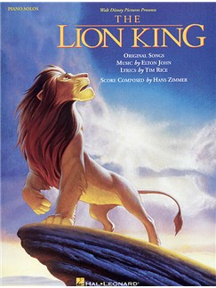 The Lion King: Piano Solos Livre | Piano