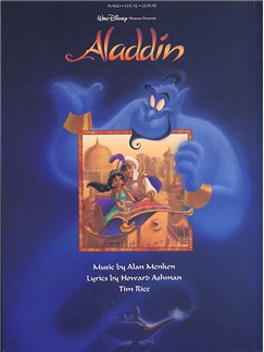 Alan Menken: Aladdin - Vocal Selections Livre | Piano, Chant et Guitare (Boîtes d'Accord)