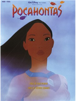 Alan Menken: Pocahontas - Vocal Selections Books | Piano and Voice, with Guitar chord boxes