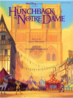 The Hunchback Of Notre Dame Books | Piano and Voice, with Guitar chord boxes