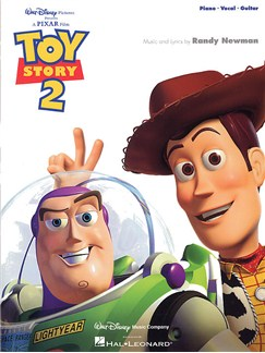 Toy Story 2 Books | Piano and Voice, with Guitar chord boxes