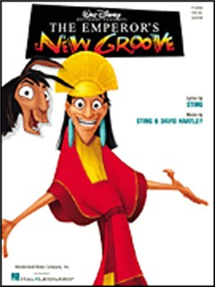 The Emperor's New Groove Books | Piano and Voice, with Guitar chord boxes