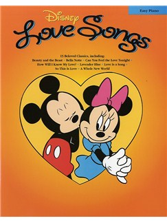 Disney Love Songs: Easy Piano Books | Piano, Voice & Guitar