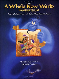 Alan Menken/Tim Rice: A Whole New World (Vocal Duet) Books | Piano, Vocal & Guitar (Duet)