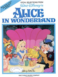 Alice In Wonderland - Vocal Selections Books | Piano and Voice, with Guitar chord boxes