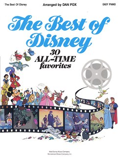 The Best Of Disney: Easy Piano Books | Piano and Voice, with Guitar chord symbols