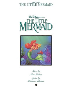 Alan Menken: The Little Mermaid - Vocal Selections Books | Piano and Voice, with Guitar chord boxes