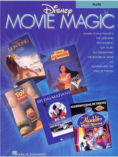 Disney Movie Magic Instrumental Solo Flute Books | Flute