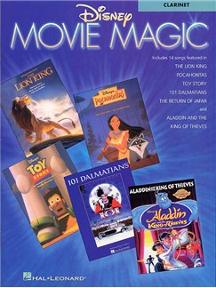 Disney Movie Magic Instrumental Solo Clarinet Books | Clarinet