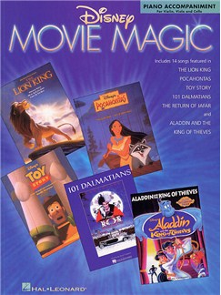 Disney Movie Magic Piano Accompaniment For Violin, Viola And Cello Books | String Instruments, Piano