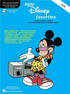 Easy Disney Favorites For Flute (Book/Online Audio) Books and Digital Audio | Flute