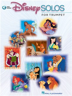 Disney Solos (Trumpet) (Book/Online Audio) Books and Digital Audio | Trumpet