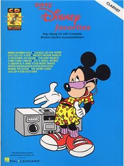 Easy Disney Favorites For Clarinet CD et Livre | Clarinette
