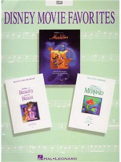 Disney Movie Favorites Instrumental Solo Cello Books | Cello