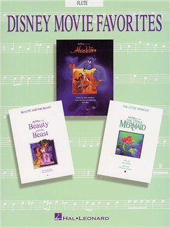 Disney Movie Favorites Instrumental Solo Flute Livre | Flûte Traversière