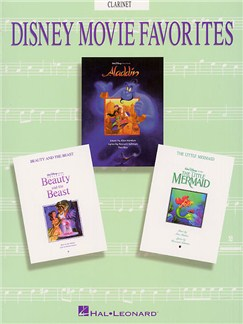 Disney Movie Favorites Instrumental Solo Clarinet Books | Clarinet