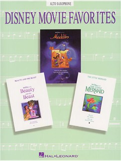 Disney Movie Favorites Instrumental Solo Alto Saxophone Books | Alto Saxophone