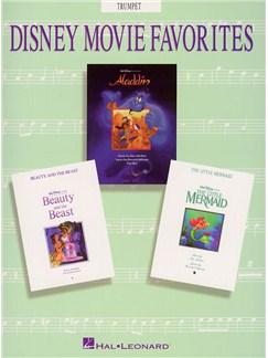 Disney Movie Favorites Instrumental Solo Trumpet Books | Trumpet