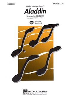 Aladdin (Medley) (SA) Books | Soprano, Alto, Piano