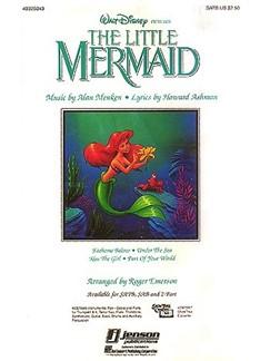 Alan Menken: The Little Mermaid (Medley) - SATB Books | SATB, Piano Accompaniment