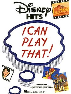 I Can Play That! Disney Hits Books | Piano, Lyrics & Chords
