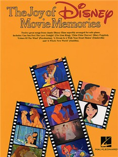 The Joy Of Disney Movie Memories Books | Piano