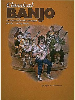 Classical Banjo - Forty Classical Works Books | Banjo Tab
