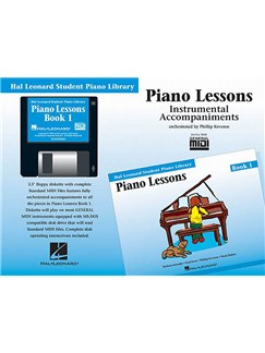Hal Leonard Student Piano Library: Piano Lessons Book 1 (GM Disk) CD-Roms / DVD-Roms | Piano