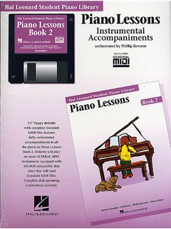 Hal Leonard Student Piano Library: Piano Lessons Book 2 (GM Disk) CD-Roms / DVD-Roms | Piano