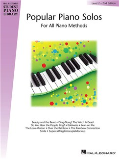 Hal Leonard Student Piano Library: Popular Piano Solos Level 2 Livre | Piano