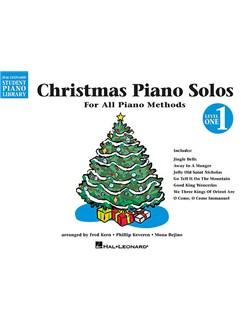 Hal Leonard Student Piano Library: Christmas Piano Solos Level 1 Livre | Piano