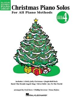 Hal Leonard Student Piano Library: Christmas Piano Solos Level 4 Books | Piano