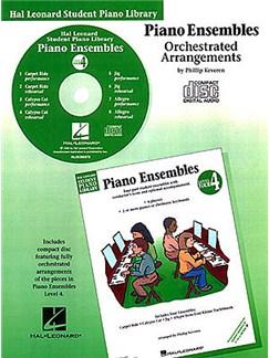 Hal Leonard Student Piano Library: Piano Ensembles Level 4 (CD) CDs | Piano (2 Pianos, 8 Hands)